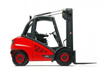 Foto 1: Heftruck diesel, model: linde